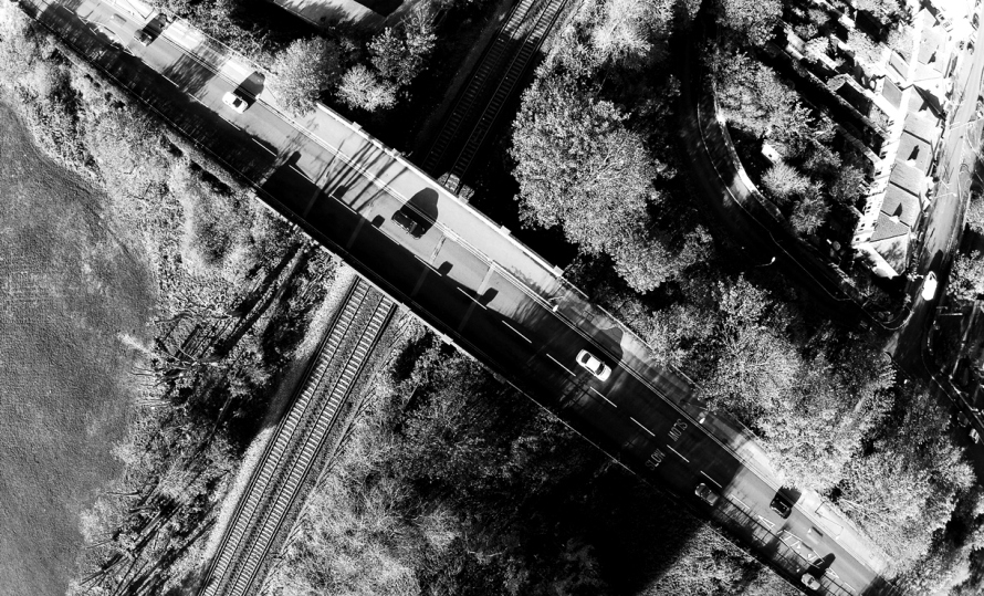 Railway Bridge Cross