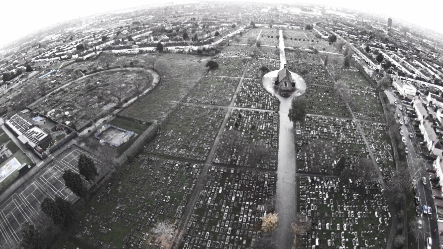 Photo: Graveyard