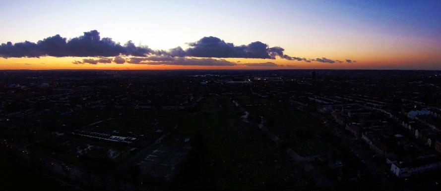 Photo: Orange Sunset